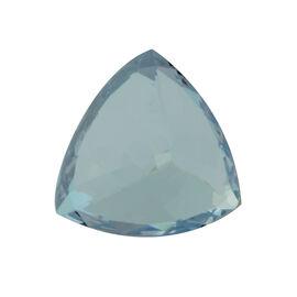 AAA Aquamarine Trillion 11.5 Faceted 3.79 Cts