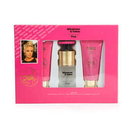 Pink Set (Incl. Eau De Parfum - 100ml, Body Lotion - 100ml & Body Cream - 100ml)
