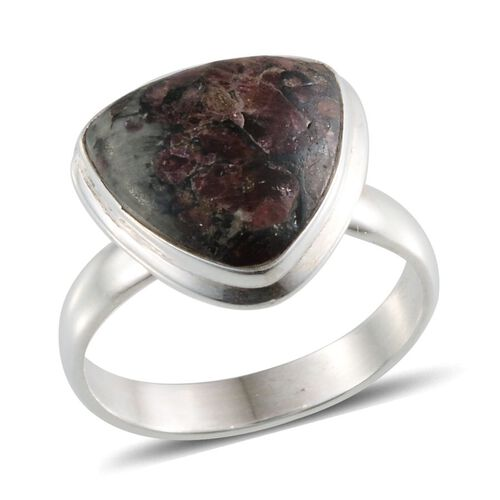 Eudialyte (Trl) Solitaire Ring in Sterling Silver 7.000 Ct.