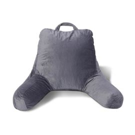 Memory Foam Back Support Grey Colour Reading Pillow