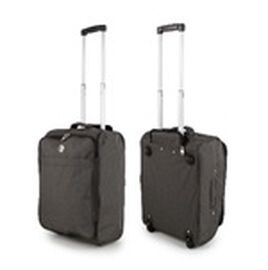 Dark Grey Cabin Bag with Extendable Arms