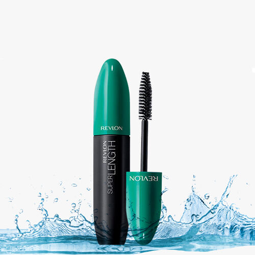 Revlon: Super Length Mascara Waterproof - Black & Mega Multiplier Mascara - Black (8.5ml Each)