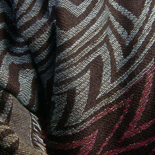Multi Colour Lurex scarf (Size 185x70 Cm)