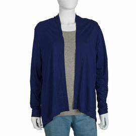 Jersey Cardigan in Navy Colour