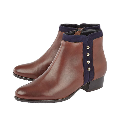Lotus ROSA Ankle Boots (Size 8) - Tan