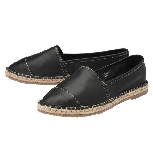 Ravel Bargo Leather Slip-On Shoes (Size 4) - Black