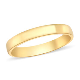 Hatton Garden Close Out  9K Yellow Gold Band Ring