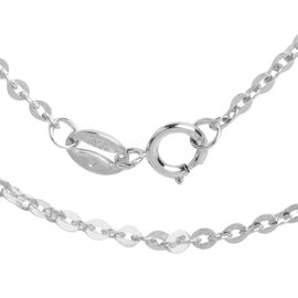 One Time Deal- RHAPSODY 950 Platinum Necklace (Size 18), Platinum wt 3.00 Gms