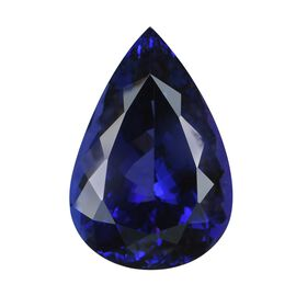 IGI Certified AAAA Tanzanite Pear Cut 22.58x15.29x11.46mm 26.65 Cts