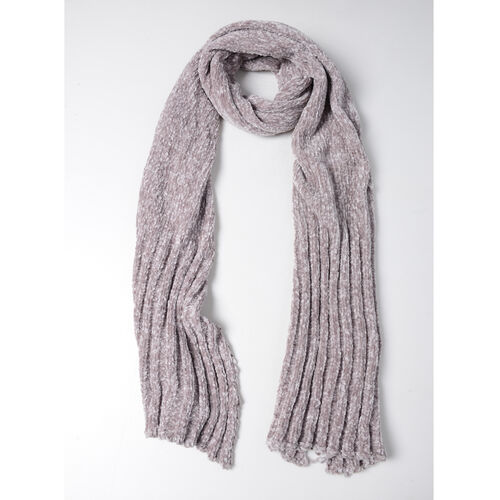 Dark Grey Colour Scarf (Size 202x30 Cm)