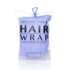 Sleeke Microfibre Hair Wrap (Size 62x25x10Cm) - Baby Blue
