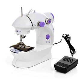 Multifunctional & Portable Mini Double Thread Sewing Machine - (Includes: 1 Needle, 1 Needle Threade