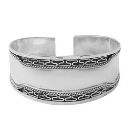 Adjustable Cuff Bangle in Sterling Silver 20.82 Grams 7 Inch