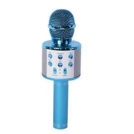 Smart Karaoke Mic with Multi Features in Blue Colour