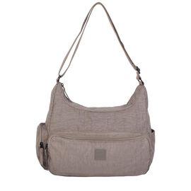 Artsac - Beige Colour Single Strap Shoulder Bag with Zip Closure (Size 345 x290 x130 mm)