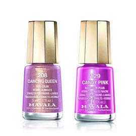 Mavala: Candy Pink - 129 & Dancing Queen - 208