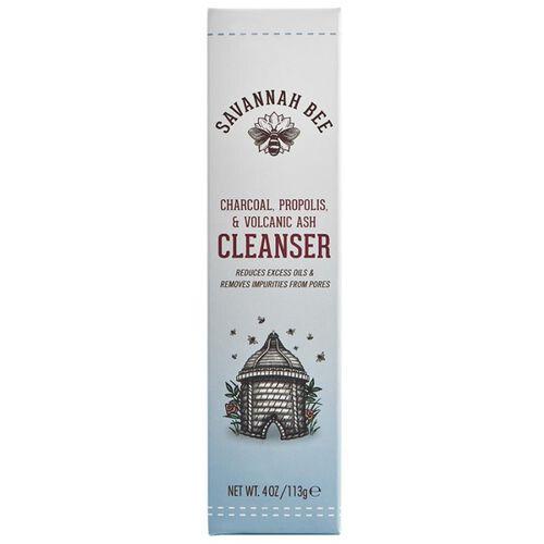 Savannah Bee: Charcoal, Propolis & Volcanic Ash Cleanser - 113g
