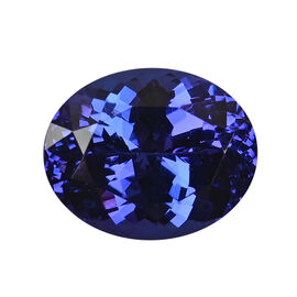 AAAA Tanzanite Oval 13.61X10.90X8.10 Faceted 8.77 Ct.