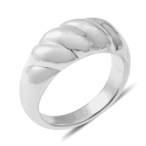 Thai Sterling Silver Collection- Chunky Sterling Silver - Electroformed Band Ring
