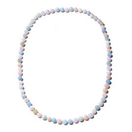 496.95 Ct Multi Beryl Beaded Necklace 30 Inch