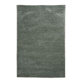 Premium Hand Tufted Luxury Carpet with 100% Cotton Back (180 CmX120 Cm. ) - Sea Green Colour