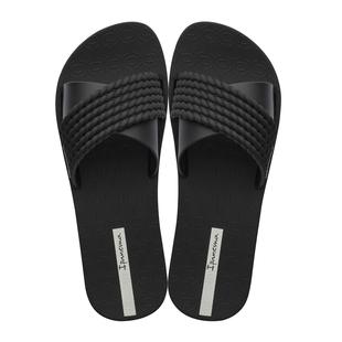 Ipanema Street Slide Rope Flat Sandals (Size 3) - Black