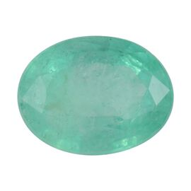 AA Colombian Emerald Oval 8.90x6.73x4.23 Faceted 1.50 Cts