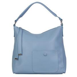 Bulaggi Collection - Alexis - Pastel Blue Hobo Handbag (30x31x10 cm) - Blue