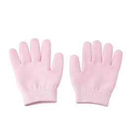 SPA Moisturizing Gel Gloves (Size 19x13 Cm) - Pink