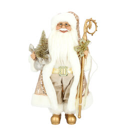 Christmas Decoration - Santa (SIze 45cm) - White