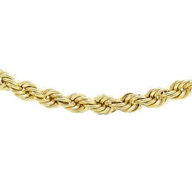 JCK Vegas Collection Rope Chain (Size 24) in 9K Yellow Gold 5.50 gms 24 Inch