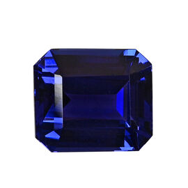 AAAA Tanzanite Octagon 11.29X9.85X6.54 Faceted 6.68 Ct.
