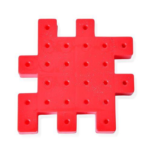 Multi Colour Gear Building Toy Set - Interlocking Learning Blocks - Motorized Spinning Gears - 81 Piece