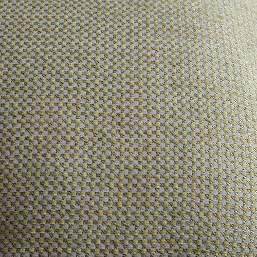 Dotted Pattern Yellow Colour Cushion (Size 43x43 Cm)