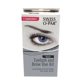 Swiss-O-Par: Eyelash & Eyebrow Dye Kit - Black