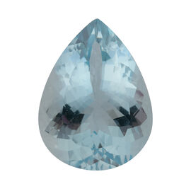 AAA Aquamarine Pear 20x15 Faceted 13.92 Cts