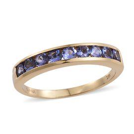 Iliana AAA Tanzanite (1.00 Ct) 18K Y Gold Ring  1.000  Ct.