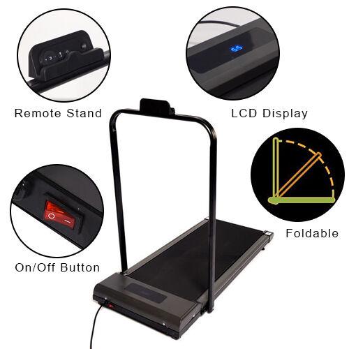 Foldable Treadmill: Max Power 200w, Max Weight 120KG, Walking area:40X103cm