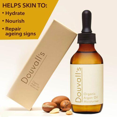 Douvalls: Argan Oil Moisturiser - 100ml