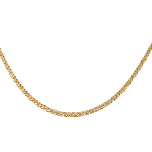 9K Yellow Gold Spiga Chain (Size 20), Gold wt 6.24 Gms