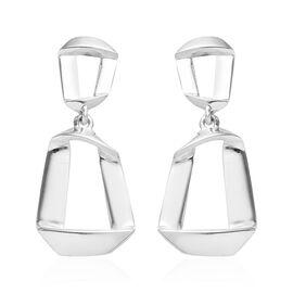 Designer Inspired-Sterling Silver Dangle Earrings (with Push Back),