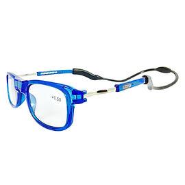 Loopies Magnetic Photochromic Sky Blue Reading Glasses