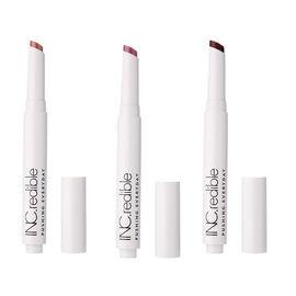 Nails Inc: Jojoba Infused Lipstick Trio - Tomato, Brick & Nude
