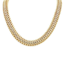 JCK Vegas Byzantine Chain Design Necklace in 9K Gold 36 Grams 20 Inch