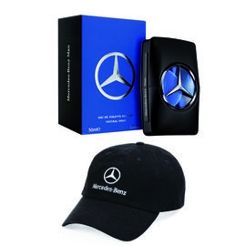Mercedes-Benz: EDT Man - 50ml (With Free Mercedes Baseball Cap)