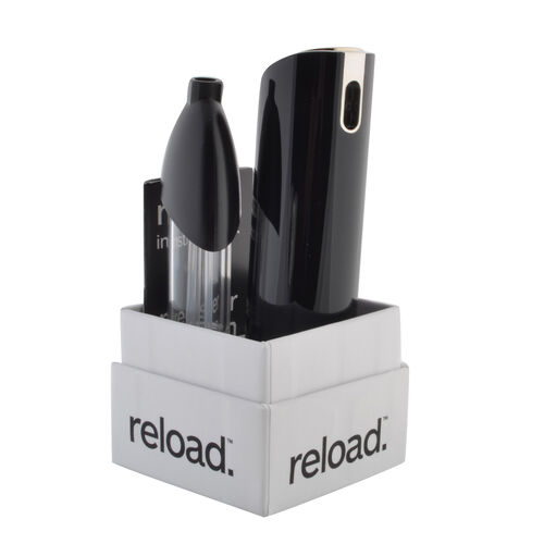 Reload Mini Perfume Spray Black (Incl. Issey Miyake DIssey Homme - 5ml & Zebra Skin)