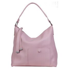 Bulaggi Collection - Alexis - Pastel Pink Hobo Handbag (30x31x10 cm) - Pink