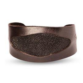 Stingray Leather Bangle (Size 7)