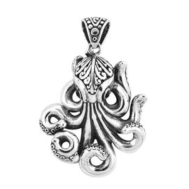 Royal Bali Octopus Pendant in Sterling Silver 12.93 Grams