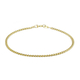Curb Chain Bracelet in 9K Yellow Gold 7 Inch